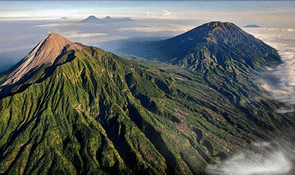 Les plus beaux volcans d'Indonésie
