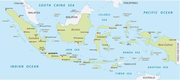 Carte Bali Indonesie Geographie.La Geographie De L Indonesie Azimuth Adventure Travel