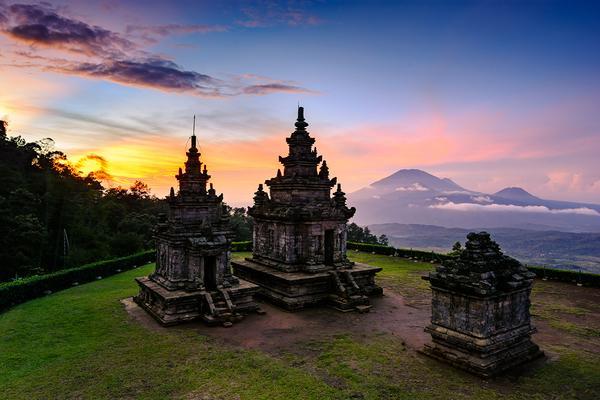 Héritage bouddhiste et hindouiste d'Indonésie