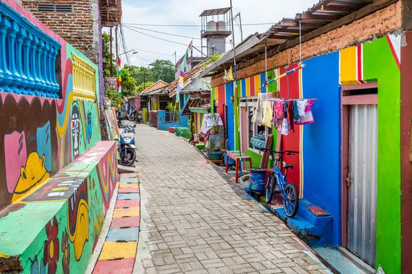 Où voir du street art en Indonésie ?