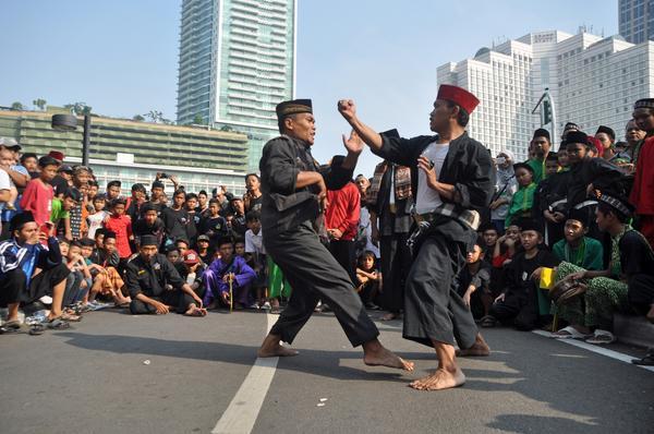 Le pencak-silat, art martial indonésien