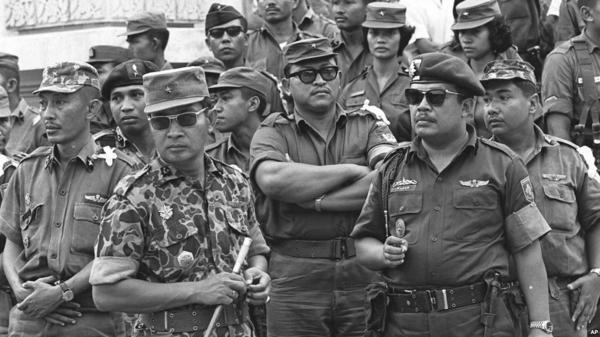 La dictature de Suharto