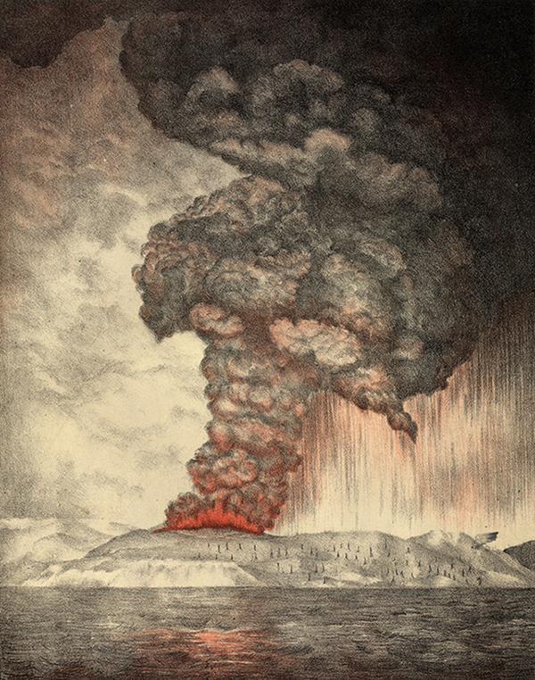 Petite histoire du volcan Krakatoa… et de son fils!