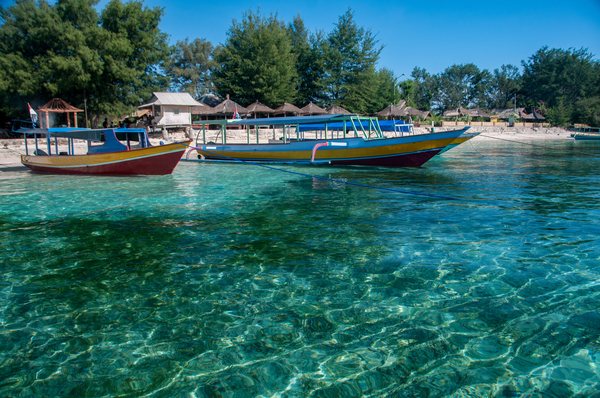 Plage de l'île Gili Air, photo © Timisimages via Shutterstock