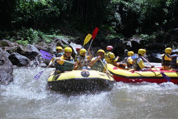 Rafting à Songa Probollingo, Java Oriental, photo © by INDONESIAPIX via Shutterstock