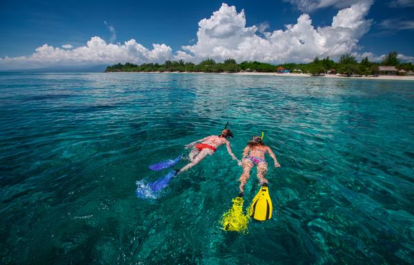 Snorkeling dans les îles Gili, photo © Dudarev Mikhail via Shutterstock